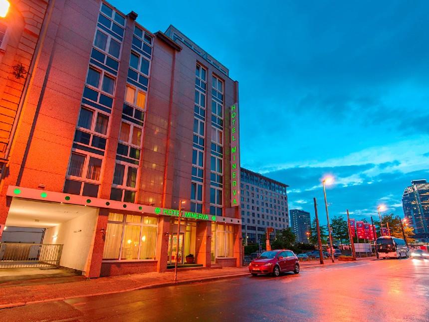 Frankfurt - Hotel Minerva - 4 Tage für 2 Personen inkl. Frühstück