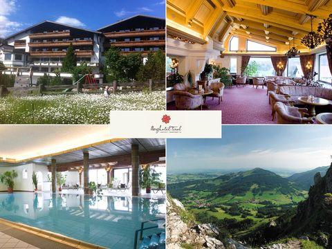 Tannheimer Tal - Berghotel Tirol - 4 Tage für 2 Pers inkl. 3/4-Verwöhnpension
