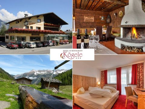 Tirol - 3*Hotel Kögele - 4 Tage für 2 Personen inkl. Halbpension
