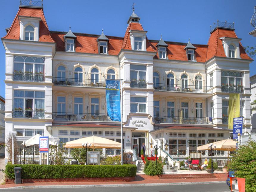 Ostsee - 4*Romantik Hotel Esplanade - 3 Tage für 2 Personen inkl. Frühstück