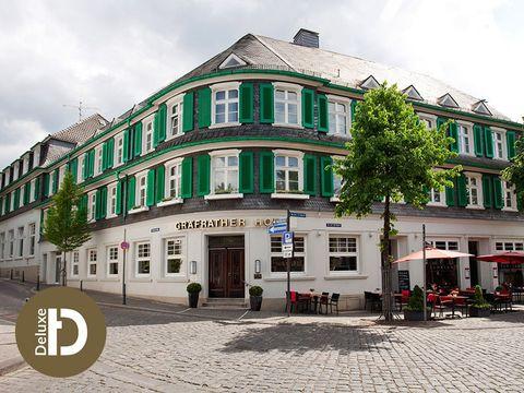 Bergisches Land - 4*S Hotel Gräfrather Hof - 6 Tage für Zwei inkl. Frühstück