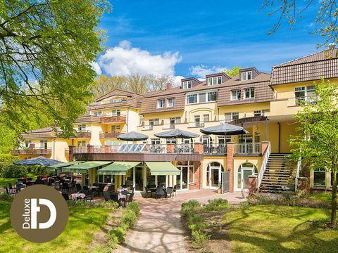 Güstrow - 4*S Hotel Kurhaus am Inselsee - 3 Tage für 2 Personen inkl. Frühstück