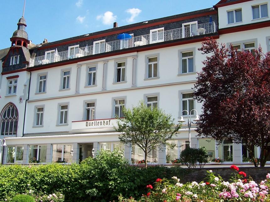 Eifel - 3*Kurhotel Quellenhof - 4 Tage zu zweit inkl. Halbpension