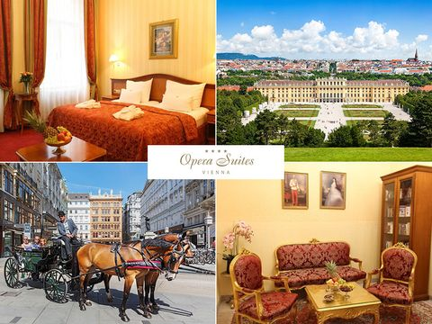 Wien - 4*Pension Opera Suites - 4 Tage zu zweit inkl. Frühstück