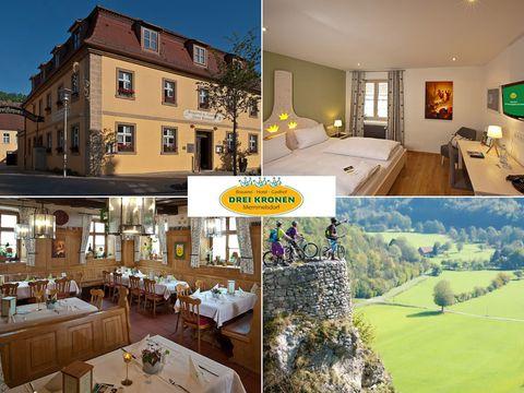 Oberfranken - 3*Hotel Drei Kronen - 6 Tage für 2 Personen inkl. Frühstück