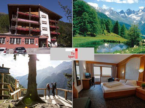 Tirol - 3*Hotel Tia Apart - 4 Tage für Zwei inkl. Halbpension