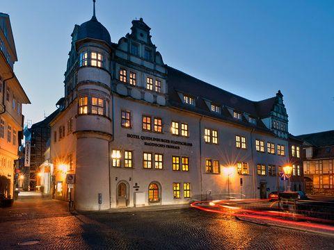 Harz - 4*Wyndham Quedlinburg Stadtschloss - 4 Tage zu zweit inkl. Frühstück