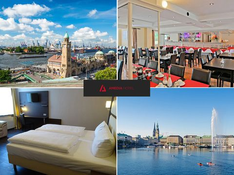 Hamburg - Amedia Hotel Hamburg Moorfleet - 6 Tage zu zweit inkl. Frühstück