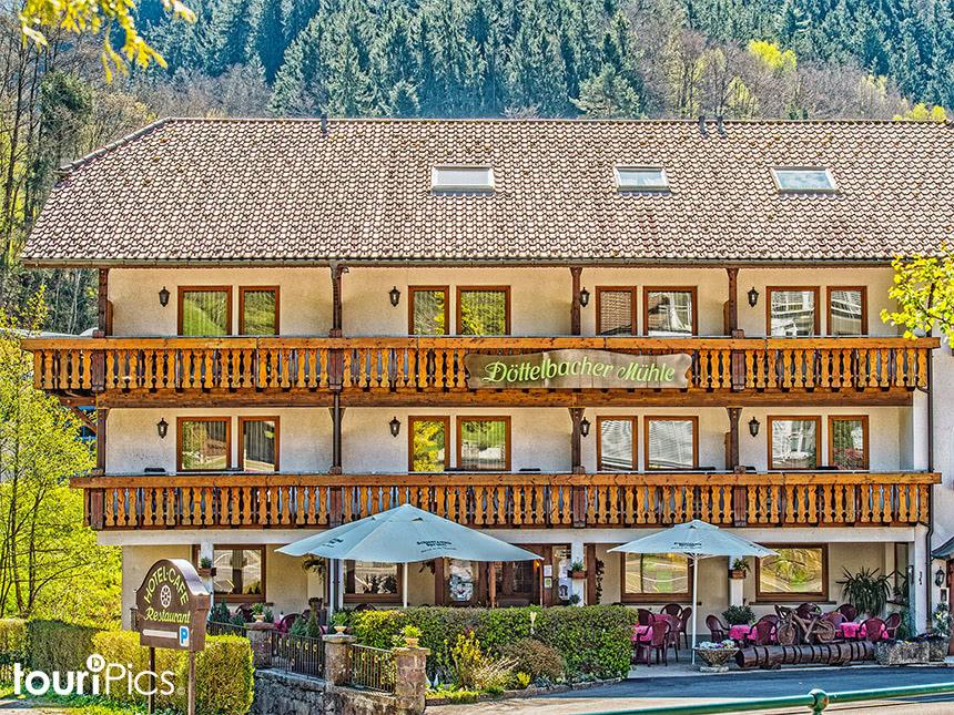 Schwarzwald - 3*Hotel Döttelbacher Mühle - 3 Tage zu zweit inkl. Halbpension