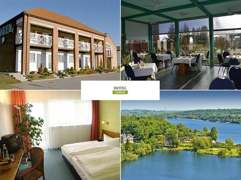 Meckl. Seenplatte - Hotel Hellfeld - 3 Tage für 2 Personen inkl. Halbpension