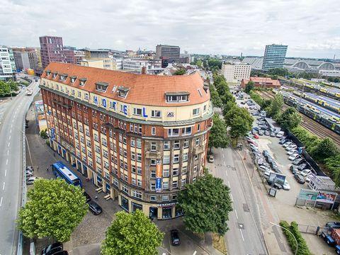 Hamburg - a&o Hamburg Hauptbahnhof - 3 Tage für 2 Personen inkl. Frühstück