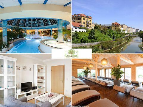 Leipzig - City Park Apartments - 6 Tage für 2 Personen