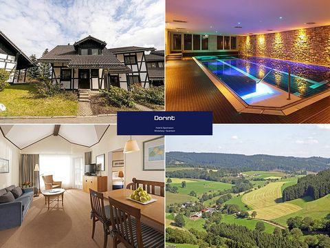 Sauerland - Dorint Hotel & Sportresort - 8 Tage für Zwei in einer Ferienwohnung