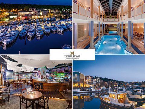 Meckl. Seenplatte - 4*Precise Resort Marina - 5 Tage für Zwei inkl. Halbpension