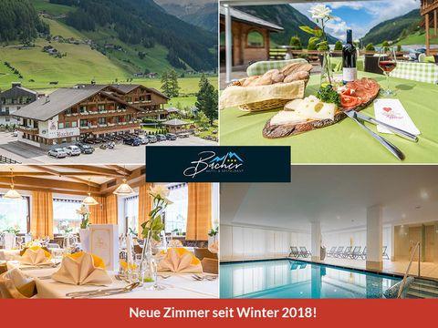 Südtirol - 3*Hotel Bacher - 4 Tage für 2 Personen inkl. Halbpension