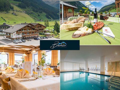 Südtirol - 3*Hotel Bacher - 6 Tage für 2 Personen inkl. Halbpension