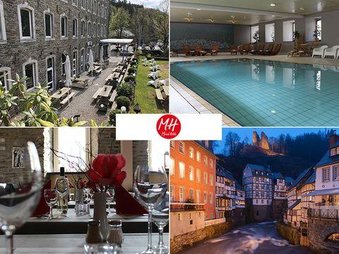Eifel - 4*Michel & Friends Hotel Monschau - 3 Tage für Zwei inkl. Frühstück