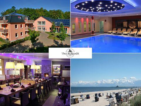 Ostsee - 3*S Das Hudewald Hotel & Resort - 8 Tage für Zwei inkl. Frühstück