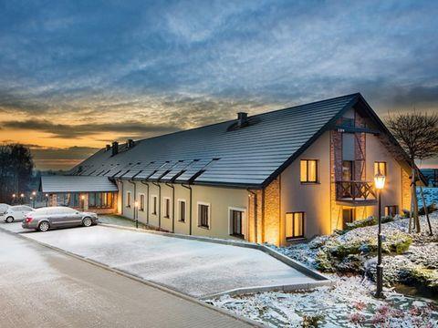 Polen - 3*Hotel Szary Residence - 6 Tage für 2 Personen inkl. Halbpension