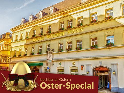 Erzgebirge - 4*Traditionshotel Wilder Mann - 4 Tage für Zwei inkl. Frühstück