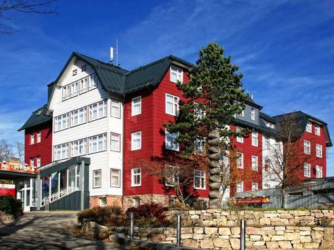 Thüringer Wald - 4*Berghotel Oberhof - 8 Tage zu zweit inkl. Halbpension