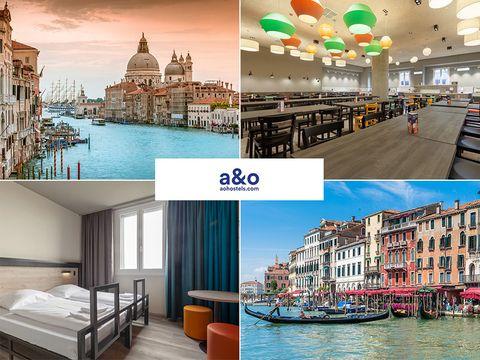 Venedig - a&o Venice Mestre - 4 Tage für 2 Personen inkl. Frühstück