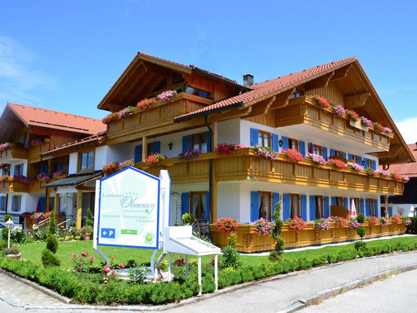 Allgäu - 3*Landhaus Ohnesorg - 6 Tage für 2 Personen inkl. Frühstück