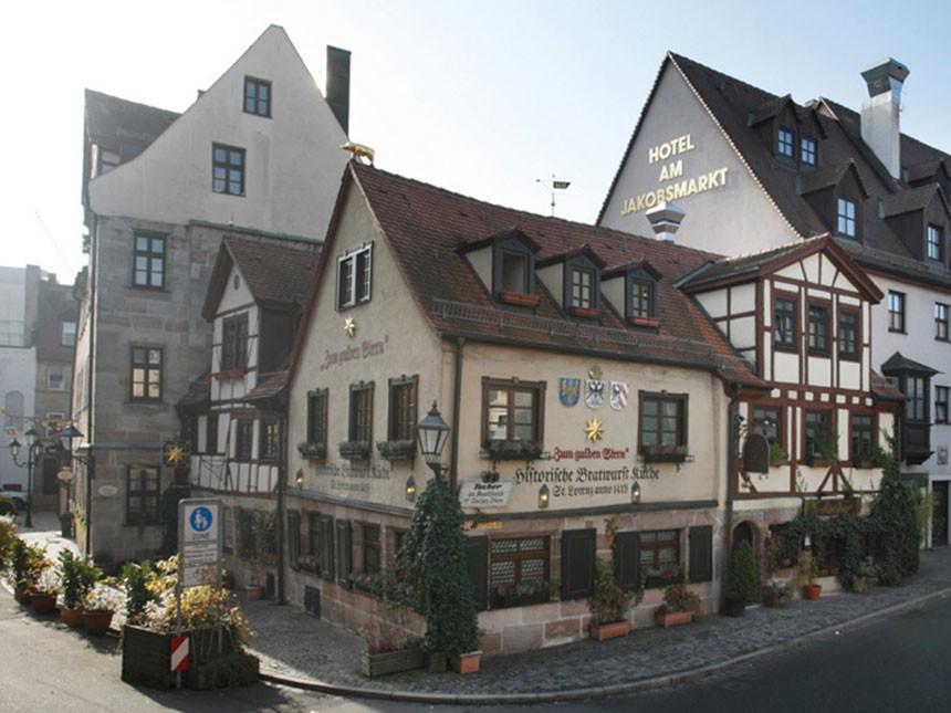 Nürnberg - 3*Hotel Am Jakobsmarkt - 3 Tage für 2 Personen inkl. Frühstück