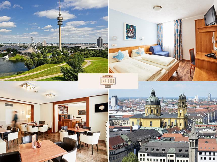 München - 3*Hotel Imperial - 3 Tage für 2 Personen inkl. Frühstück