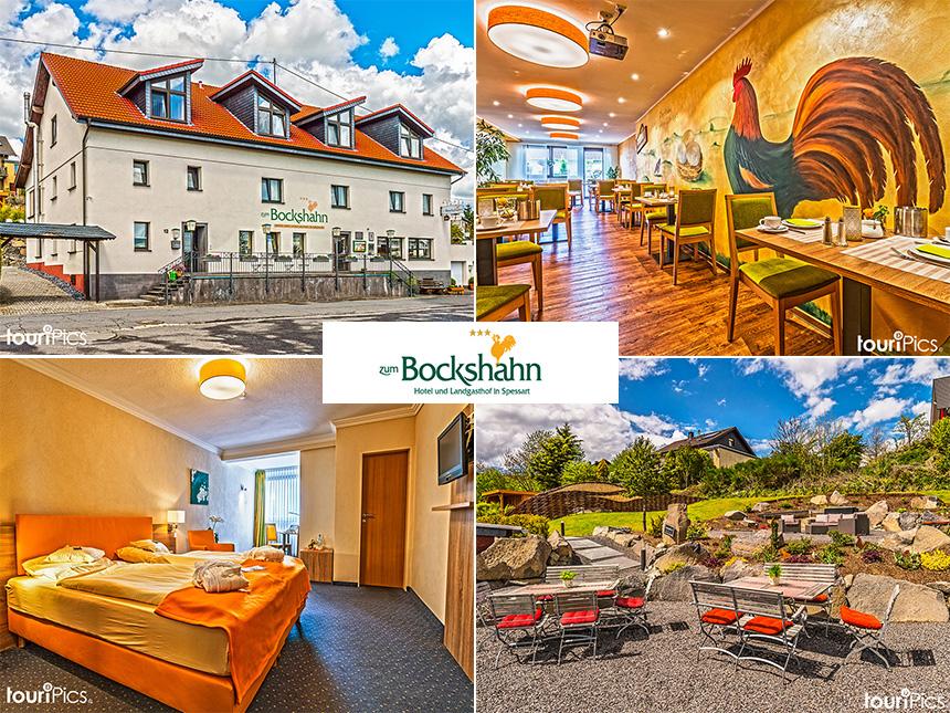 Eifel - 3*Hotel Zum Bockshahn - 4 Tage zu zweit inkl. Halbpension