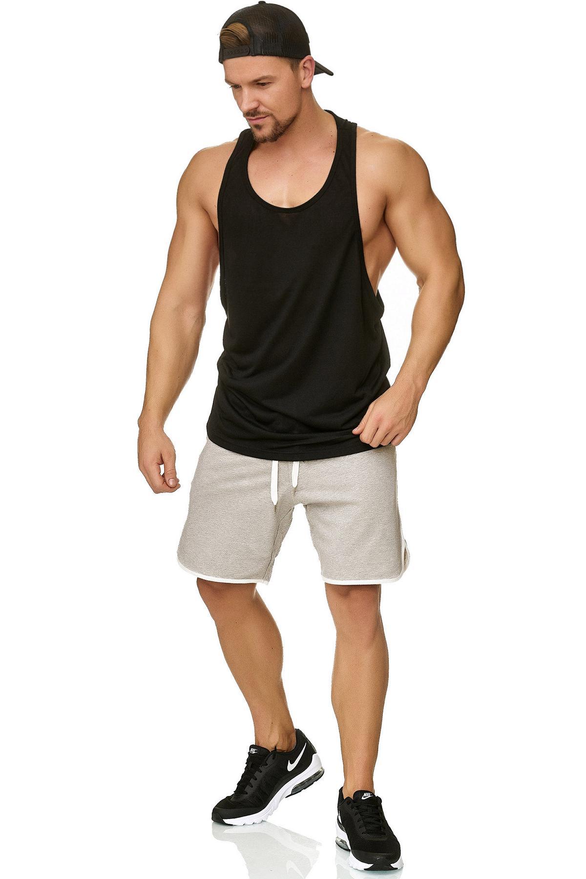 new product 86e97 8faaa Muscle Shirt Herren Tank Top Schwarz