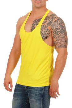 Herren Stringer Bodybuilding Vest – Bild 17