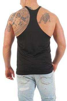 Herren Stringer Bodybuilding Vest – Bild 3