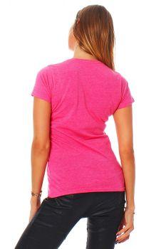 Damen T-Shirt Rundhals Meliert Comfort Bügelfrei XS-XL  – Bild 15