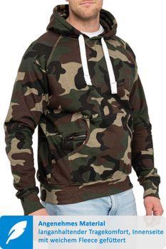 Herren Pullover Camouflage Atlanta – Bild 1