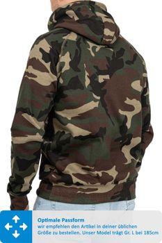 Herren Pullover Camouflage Atlanta – Bild 2