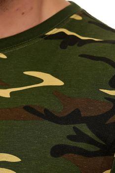 Herren Camouflage T-Shirt Sunset – Bild 3
