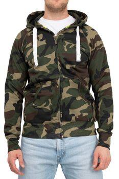 Herren Sweatjacke Camouflage Dallas – Bild 1