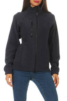 Damen Fleecejacke ohne Kapuze Norway – Bild 5