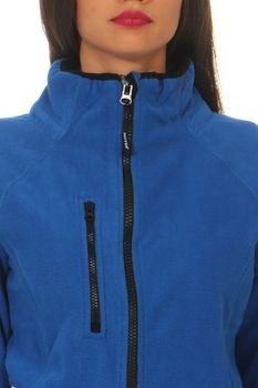 Damen Fleecejacke ohne Kapuze Norway – Bild 20