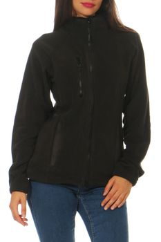 Damen Fleecejacke ohne Kapuze Norway – Bild 1