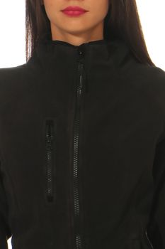 Damen Fleecejacke ohne Kapuze Norway – Bild 4