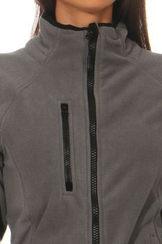 Damen Fleecejacke ohne Kapuze Norway – Bild 12