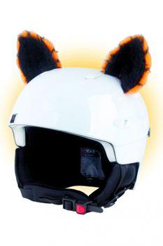 Crazy Ears Helm Ski-Ohren Katze Tiger Lux Frosch – Bild 5