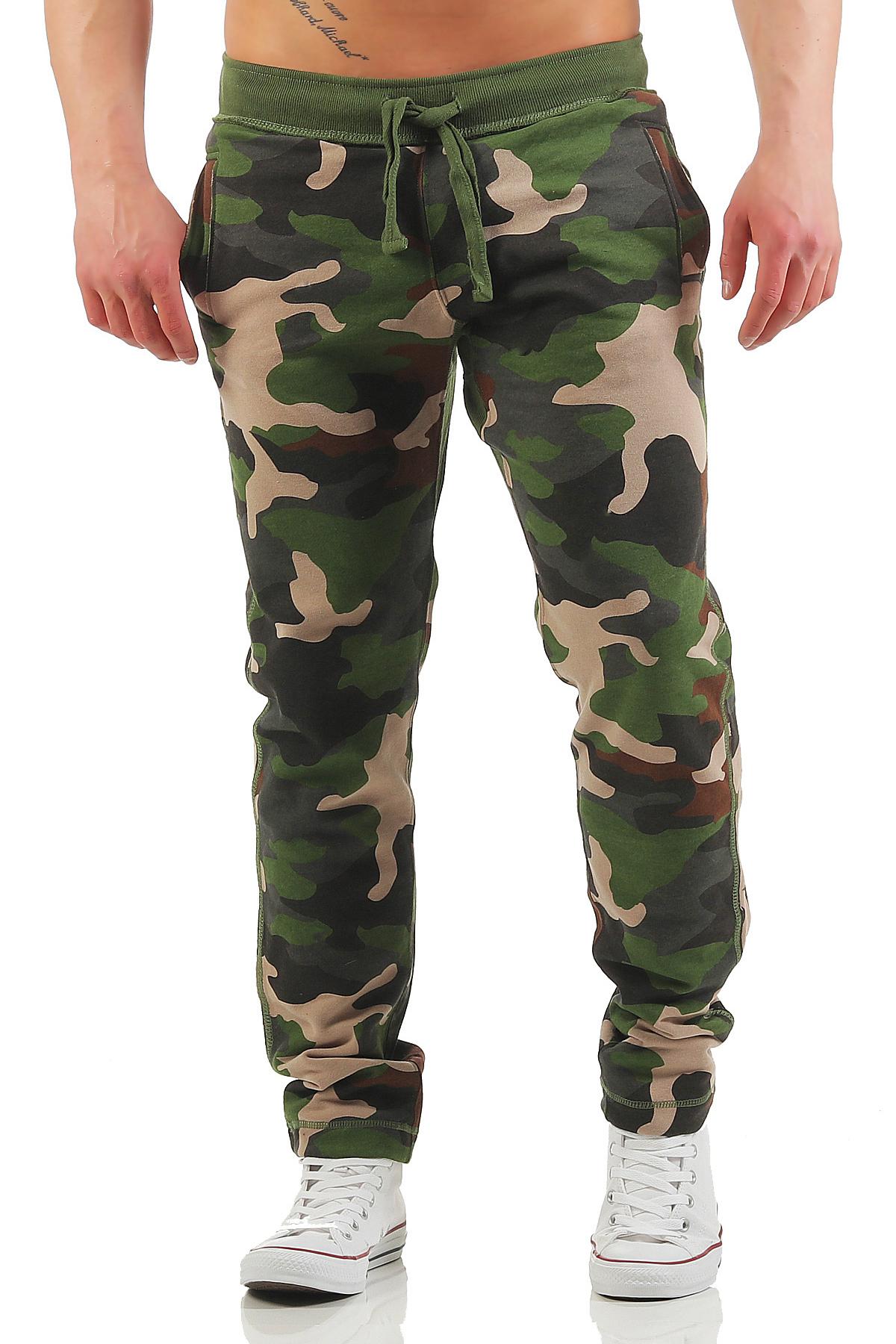 herren camouflage jogginghose college. Black Bedroom Furniture Sets. Home Design Ideas