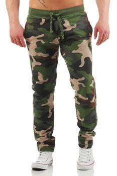 Herren Camouflage Jogginghose College – Bild 1