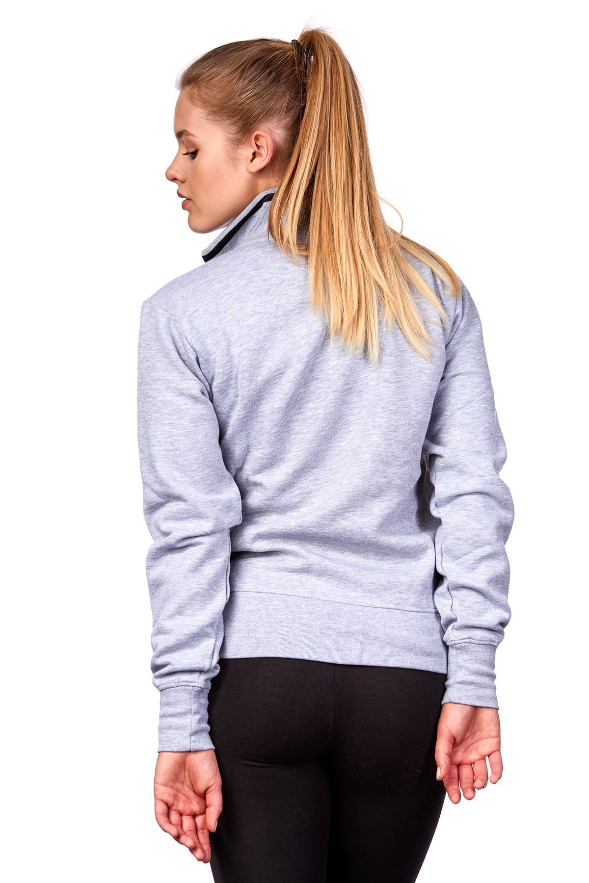 Damen Sweatjacke ohne Kapuze Melbourne – Bild 10 59343d8974