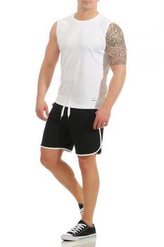 Herren Fitness T-Shirt ohne Ärmel Smash – Bild 7