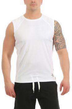 Herren Fitness T-Shirt ohne Ärmel Smash – Bild 1
