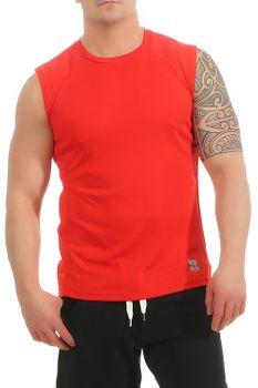 Herren Fitness T-Shirt ohne Ärmel Smash – Bild 8